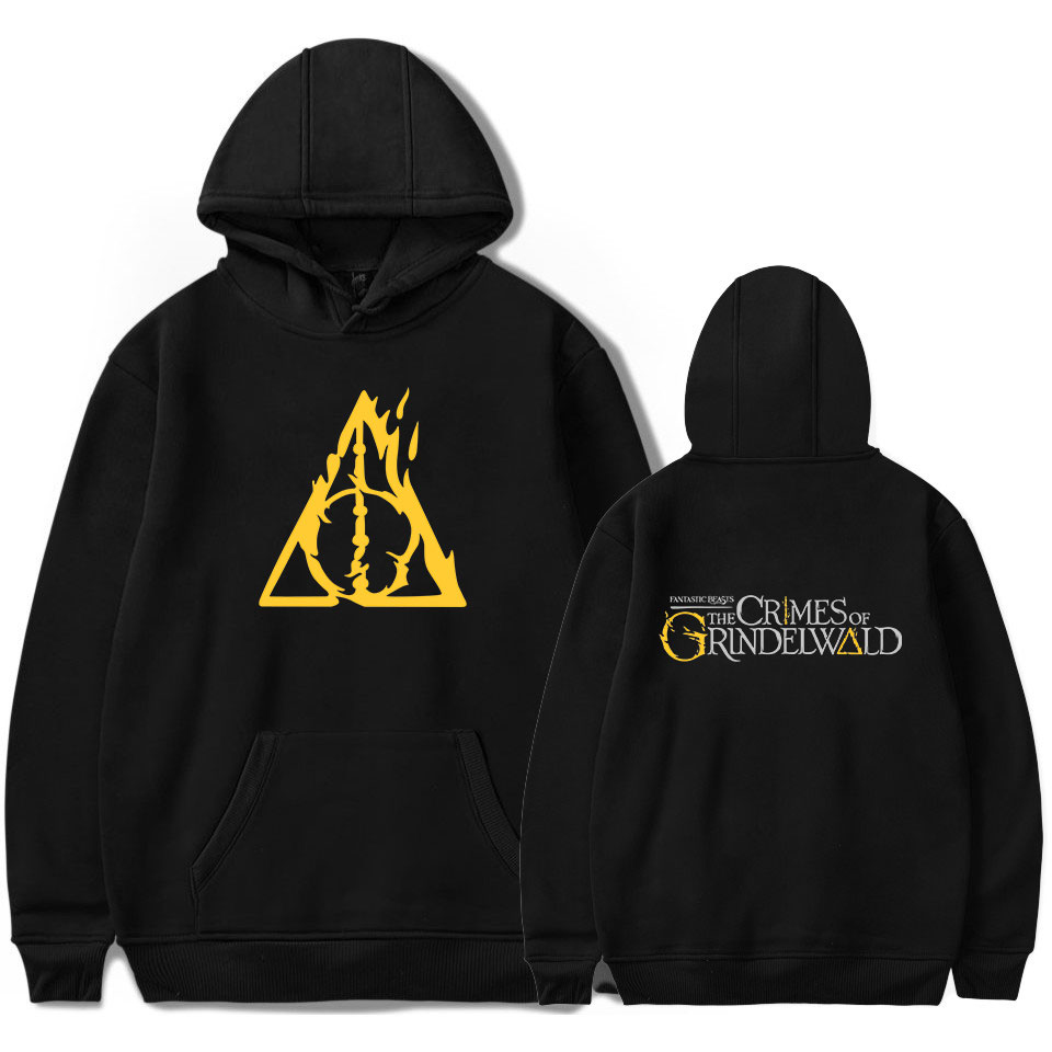 Frdun Tommy Fantastik Beasts of Suçları Grindelwald Hoodies Sweatshirt Kadın/Erkekler Kpop Hip Hop Erkek/Kadın sıcak moda Hoodies